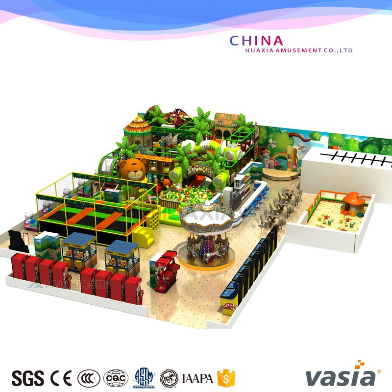 Vasia indoor playground VS1-170225-486-30