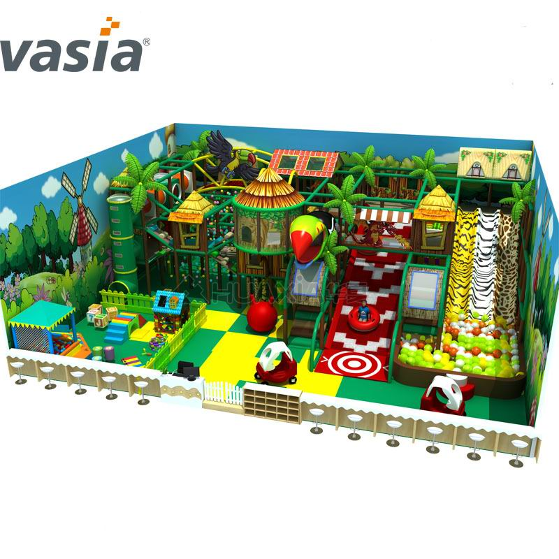 Indoor kids park with Jungle themes