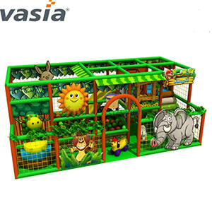 Commercial Fun LLDPE Plastic Soft Indoor Playground